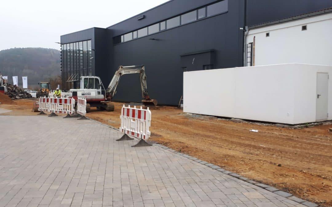 Neues von der Baustelle in Vilshofen